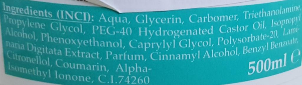 intenzivni gel proti celulitu inci